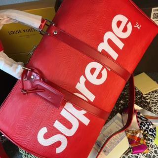 Supreme トートパック 旅行かばん Red メンズ