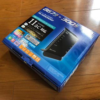 エヌイーシー(NEC)のNEC PA-WG1200HP Wi-Fiルーター(PC周辺機器)