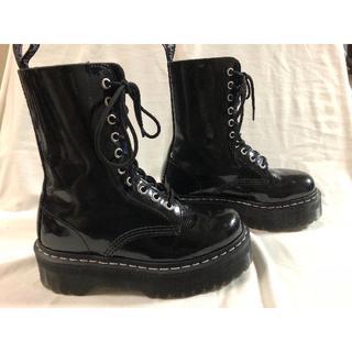 ドクターマーチン(Dr.Martens)の美品 アギネス コラボモデル 10ホール(ブーツ)