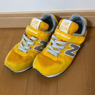 New Balance - ニューバランス996 黄色 19cm