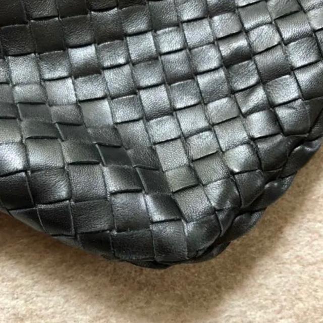 Bottega Veneta(ボッテガヴェネタ)のあまつの様専用★ボッテガヴェネタ  ワンショルダー バッグ  黒 レディースのバッグ(ショルダーバッグ)の商品写真