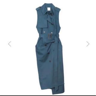 Ameri VINTAGE - ameri TRENCH LIKE DRESS