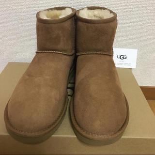 アグ(UGG)の未使用 UGG ムートンブーツ  CLASSIC MINI(ブーツ)