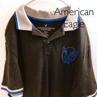 アメリカンイーグル(American Eagle)の【アメリカンイーグル】 ポロシャツ L American Eagle  (ポロシャツ)