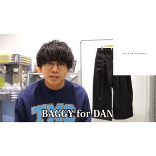 Yohji Yamamoto - SHINYA KOZUKA BAGGY for DAN ブラック S size