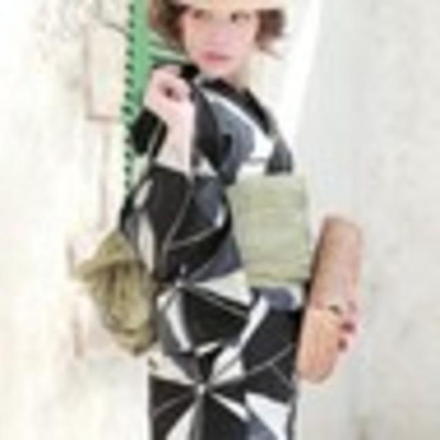 ますちゃん様☆bonheur saisons 浴衣 レディースの水着/浴衣(浴衣)の商品写真