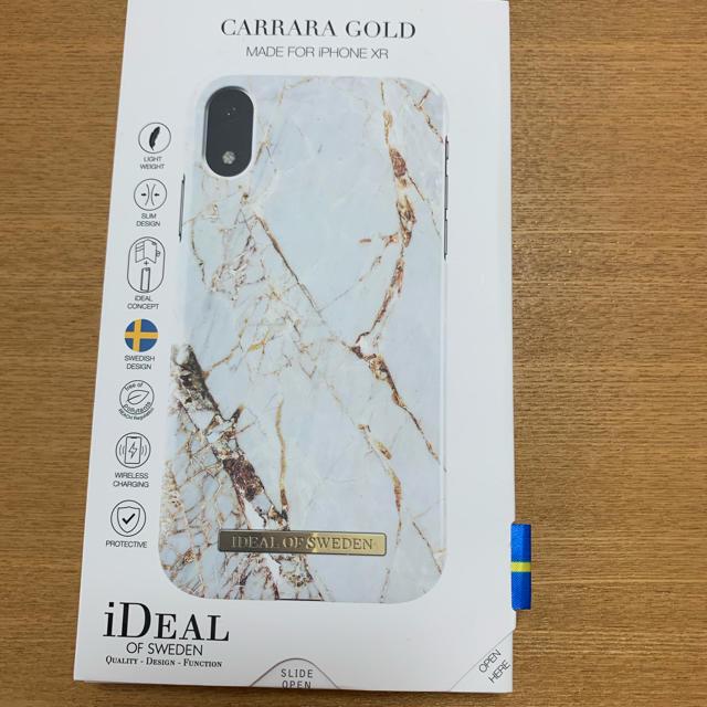 純正 ケース iphone x - iPhone XR ケース iDEALの通販 by せえな's shop|ラクマ