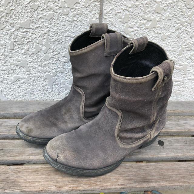DIESEL(ディーゼル)のディーゼル ショートブーツ レディースの靴/シューズ(ブーツ)の商品写真