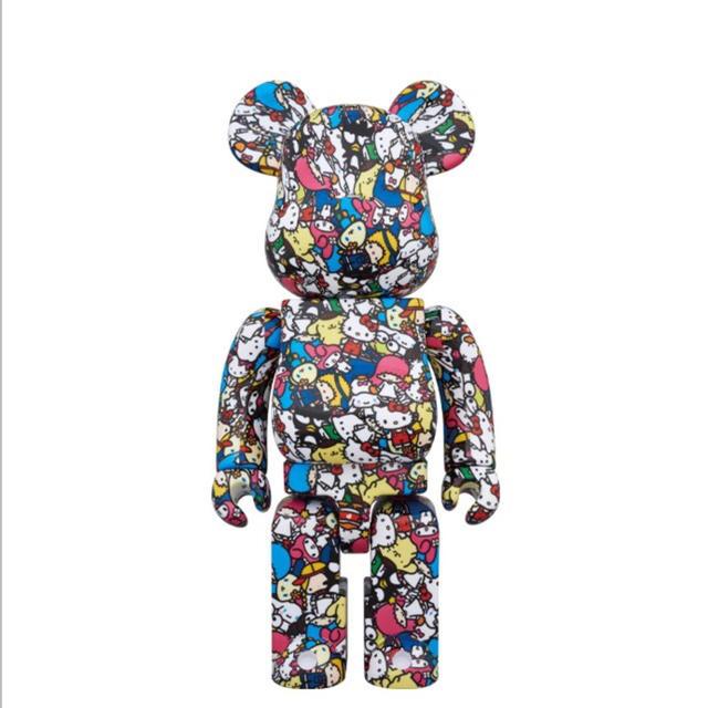 MEDICOM TOY(メディコムトイ)のBE@RBRICK ベアブリック サンリオ 400% & 100% エンタメ/ホビーのおもちゃ/ぬいぐるみ(キャラクターグッズ)の商品写真