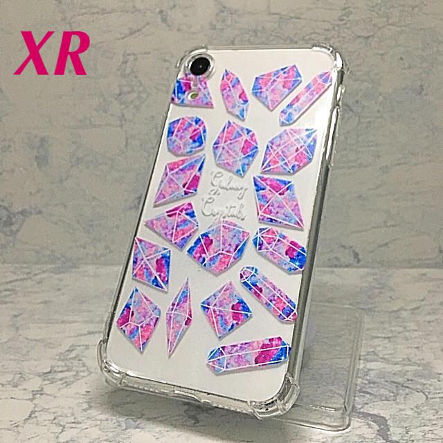 シャネル 手帳型iphoneケース / アイフォンXR iPhoneXRソフトケース☆クリスタル柄ピンク☆送料無料の通販 by ロゴ's shop|ラクマ