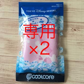 Disney - ディズニーリゾート 冷感タオルセット