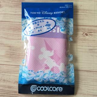 Disney - ディズニーリゾート 冷感タオル ピンク