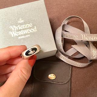 ヴィヴィアンウエストウッド(Vivienne Westwood)の【未使用】Vivienne Westwood エナメルリング(black)(リング(指輪))