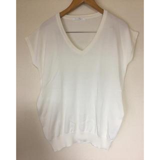 スライ(SLY)のトップス SLY スライ スタンダード  Tシャツ 半袖 フレンチ トップス 白(Tシャツ(半袖/袖なし))