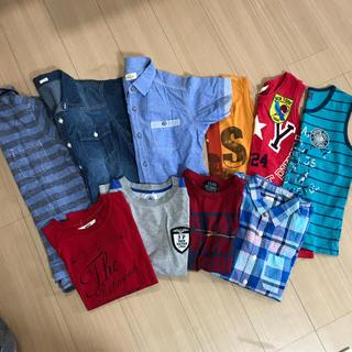 イッカ(ikka)の男子150サイズ  夏用まとめ売り10点(Tシャツ/カットソー)