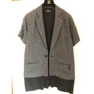 ディーゼル(DIESEL)のディーゼル ジャケット 半袖(テーラードジャケット)