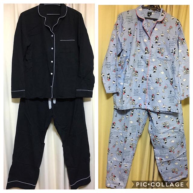 UNIQLO(ユニクロ)のパジャマ2点セット レディースのルームウェア/パジャマ(パジャマ)の商品写真