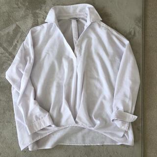 シマムラ(しまむら)のリネンブレンドシャツ 美品(シャツ/ブラウス(長袖/七分))
