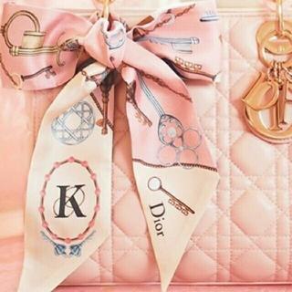 ディオール(Dior)の美品 dior ミッツァ スカーフ K ツイリー(バンダナ/スカーフ)