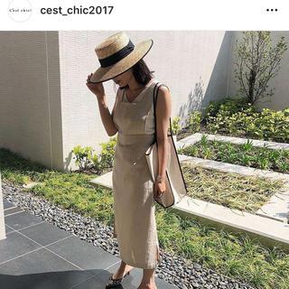 【専用ページです】C'est chic ! ジャンパースカート ワンピース(ロングワンピース/マキシワンピース)