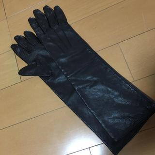 ザラ(ZARA)のレザー ロング手袋(手袋)