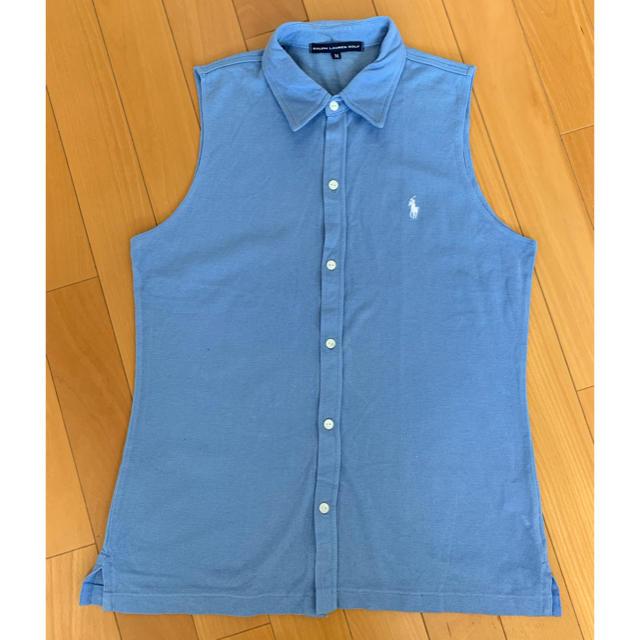 Ralph Lauren(ラルフローレン)のラルフローレン ゴルフ ノースリーブポロシャツ レディースのトップス(ポロシャツ)の商品写真