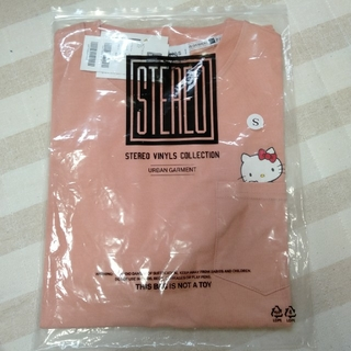 STEREOVINYLS 半袖 Tシャツ キティちゃん 男女共用 新品