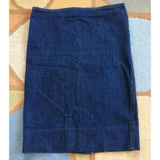 Noble - Noble  デニムタイトスカート