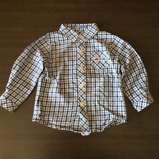 ファミリア(familiar)の値下げ♪ファミリア チェックシャツ(ブラウス)