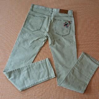 ユニクロ(UNIQLO)のユニクロ カラーデニム ポケットカスタマイズ 30インチ used(デニム/ジーンズ)