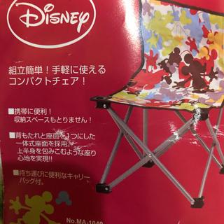 ディズニー(Disney)のディズニー折りたたみチェア(折り畳みイス)