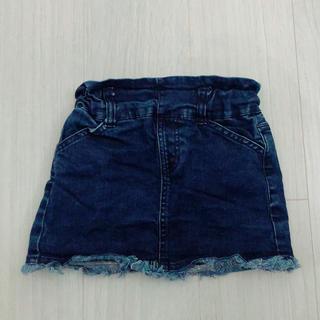 プティマイン(petit main)の【新品】petit main デニムスカート 100cm(スカート)