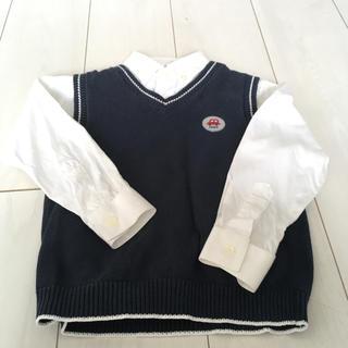 a3fa87b281a4d ファミリア(familiar)のfamiliar♡お受験 シャツ ベストセット(ドレス