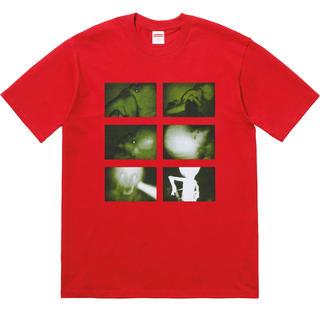 シュプリーム(Supreme)のSupreme 18FW Rubber Johnny Tee Red M 新品(Tシャツ/カットソー(半袖/袖なし))