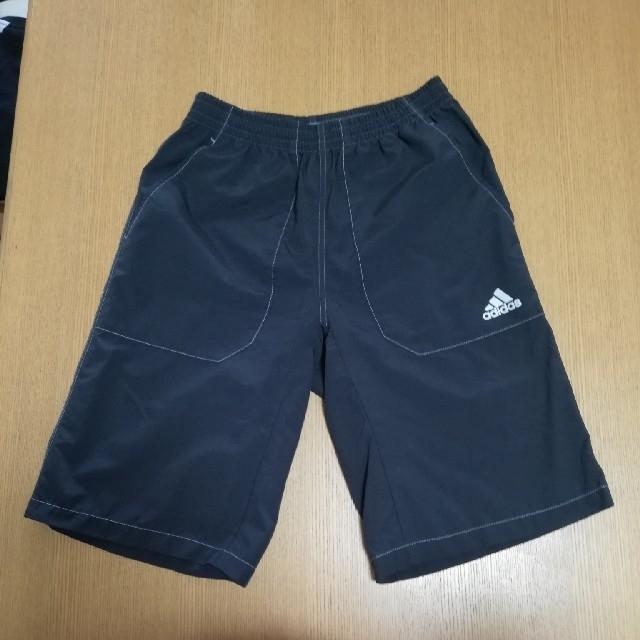 adidas(アディダス)のAdidas ハーフパンツ  Tシャツ 160 キッズ/ベビー/マタニティのキッズ服 男の子用(90cm~)(パンツ/スパッツ)の商品写真