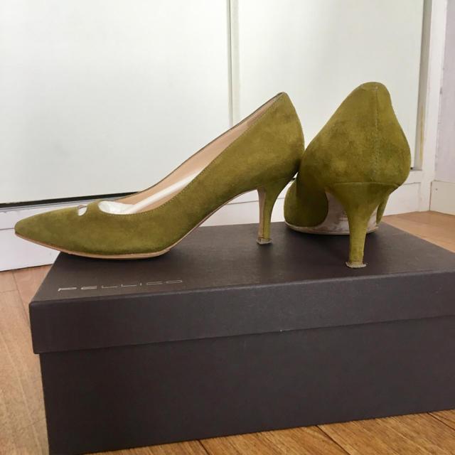 PELLICO(ペリーコ)の美品 PELLICOパンプス レディースの靴/シューズ(ハイヒール/パンプス)の商品写真