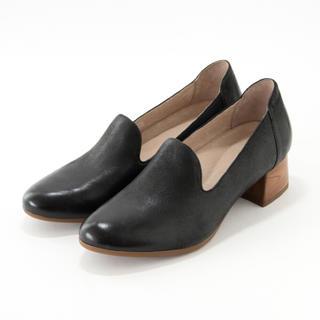 ダンスコ(dansko)のダンスコ プレストン ブラック〈生産終了モデル〉24.5-25.0cm(ローファー/革靴)
