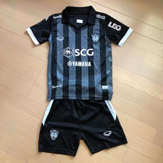 adidas - 120 子供服 サッカー 半袖 上下セット 男の子 女の子 tシャツ