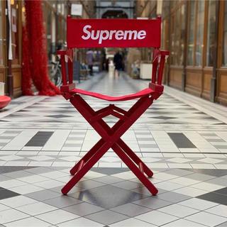 シュプリーム(Supreme)のSupreme Director's Chair 赤 Red チェア(折り畳みイス)