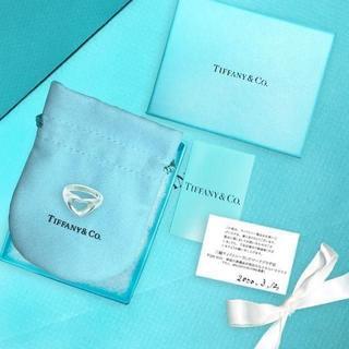 ティファニー(Tiffany & Co.)の未使用 ティファニー くり抜きハートリング10号(リング(指輪))