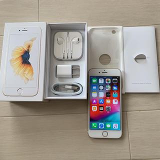Apple - iPhone6s 64GB SIMロック解除済 バッテリー交換済