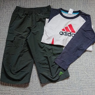 アディダス(adidas)のアディダス 140 長袖 ハーフパンツ (パンツ/スパッツ)