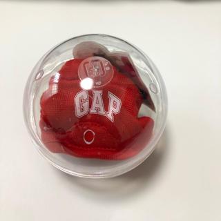 ギャップ(GAP)のGAP ブラナンベア パーカーガチャガチャ 新品未使用 赤(キャラクターグッズ)