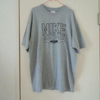 ナイキ(NIKE)の貴重 NIKE製  Tシャツ サイズ XL グレー 未着用品(Tシャツ/カットソー(半袖/袖なし))