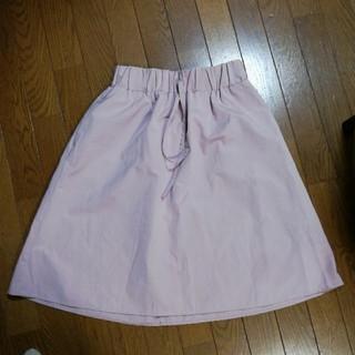 ジーユー(GU)のGU  ひざ丈スカート Mサイズ(ひざ丈スカート)