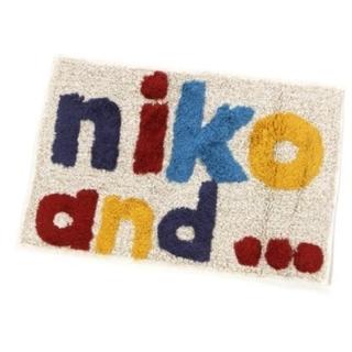 ニコアンド(niko and...)のdaaachan様専用niko and バスマット(バスマット)