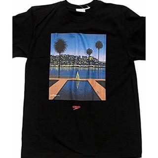ビューティアンドユースユナイテッドアローズ(BEAUTY&YOUTH UNITED ARROWS)の永井博  スピード  ティシャツ  新品 黒M(Tシャツ/カットソー(半袖/袖なし))