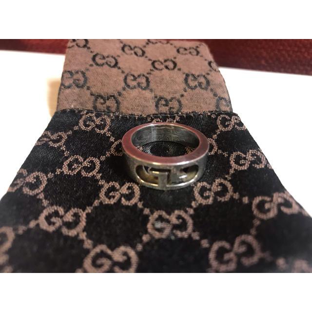 Gucci(グッチ)のGUCCI 指輪 21号 メンズのアクセサリー(リング(指輪))の商品写真