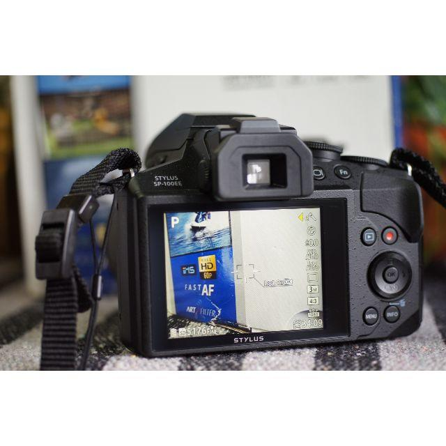 OLYMPUS(オリンパス)のOLYMPUS  SP-100EE  ドットサイト搭載 超望遠 スマホ/家電/カメラのカメラ(コンパクトデジタルカメラ)の商品写真