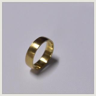 マルタンマルジェラ(Maison Martin Margiela)の▪︎Uimp▪︎ goldring スクエアリング メンズリング(リング(指輪))